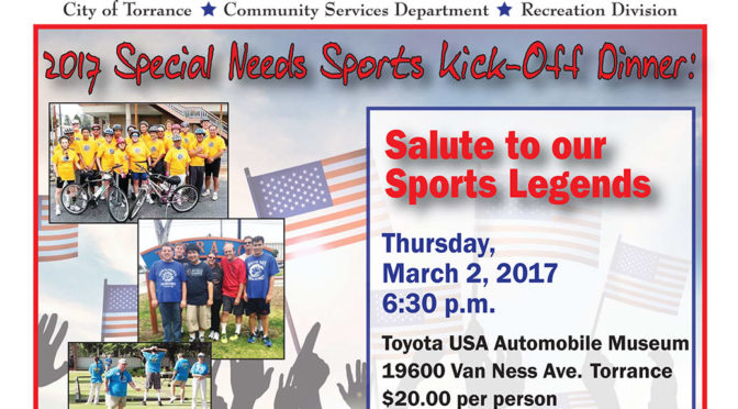 2017 Special Needs Sports Kick-Off Dinner